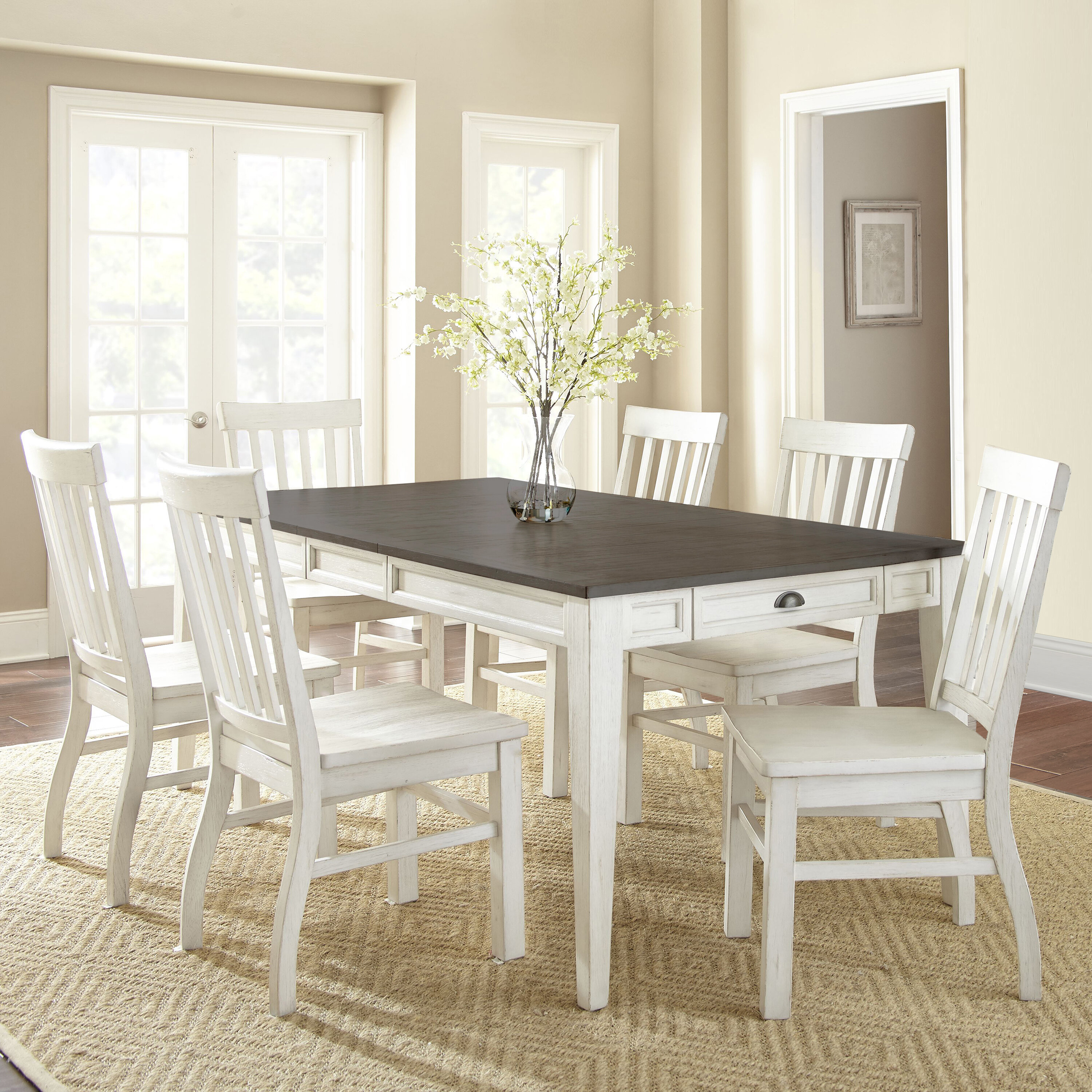 Duclos 12 - Piece Extendable Storage Table Dining Set