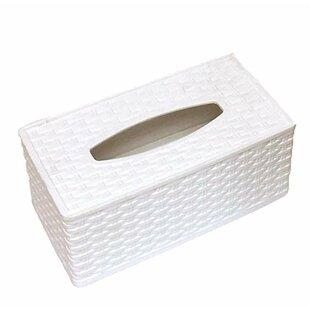 Price comparison Eunice Rectangular Wicker Tissue Box Cover ByHighland Dunes