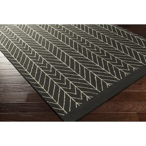 Esopus Hand-Woven Neutral/Black Area Rug