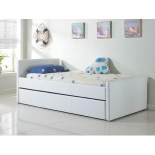 Casabianca Furniture Duetto Upholstered Platform Bed