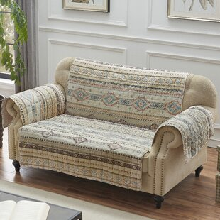 Easterling Box Cushion Loveseat Slipcover By Millwood Pines
