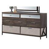 Welker Mirrored 5 Drawer Dresser by Brayden Studio®