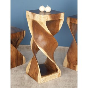 Suar Wood End Table