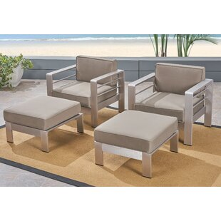 Cecil Patio Chair with Cushions