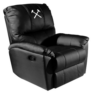 West Ham United Hammers Logo Manual Rocker Recliner by Dreamseat SKU:DE678762 Price Compare