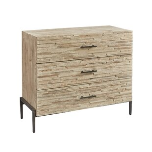 Union Rustic Peery 3 Drawer Accent Chest