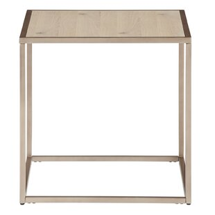 Fishponds Square End Table by Brayden Studio Bargain