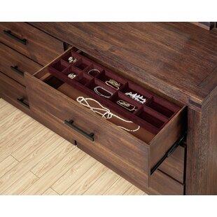 Union Rustic Circe 6 Drawer Double Dresser