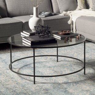 Deford Coffee Table with Tray Top by Ebern Designs