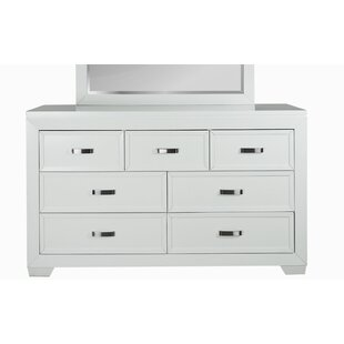 Red Barrel Studio Ellington Circle 7 Drawer Double Dresser
