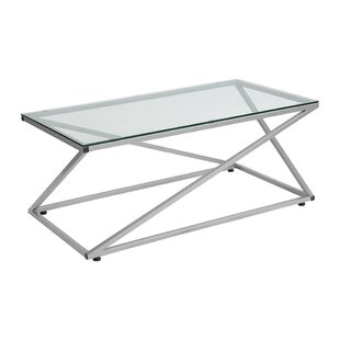 Orren Ellis Danton Glass Coffee Table