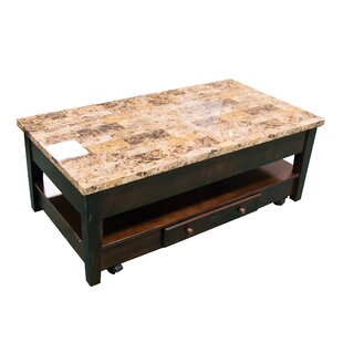 Brothers Wood Lift Top Coffee Table