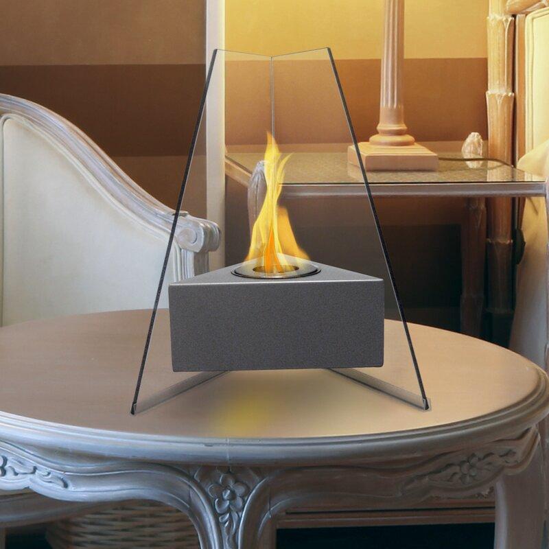 Manhattan Bio-Ethanol Tabletop Fireplace