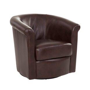 Pinehill Swivel Barrel Chair by Winston Porter