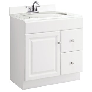 Wyndham 30 Single Bathroom Vanity Base by Design House