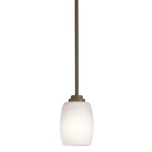 Esmont 1-Light Cylinder Pendant by Brayden Studio