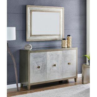 Greenberg 2 Piece Sideboard And Mirror Set By Bloomsbury Market