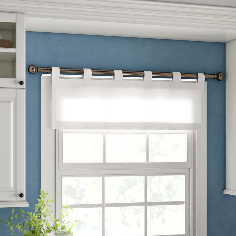 Alcott Hill Mcgowen 40 Insulated Solid Color Curtain Valance