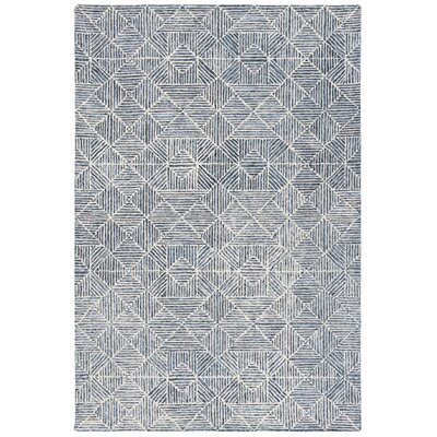 George Oliver Gaither Hand Tufted Wool Light Blue Gray Area Rug George Oliver Rug Size Rectangle 8 X 10 From Wayfair North America Daily Mail