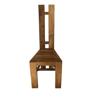 Hemenway Solid Wood Dining Chair Highland Dunes