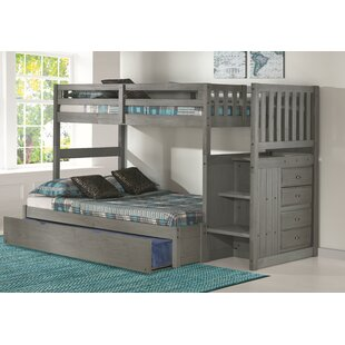 Affordable Sandberg Bunk Bed With Trundle by Harriet Bee Reviews (2019) & Buyer's Guide