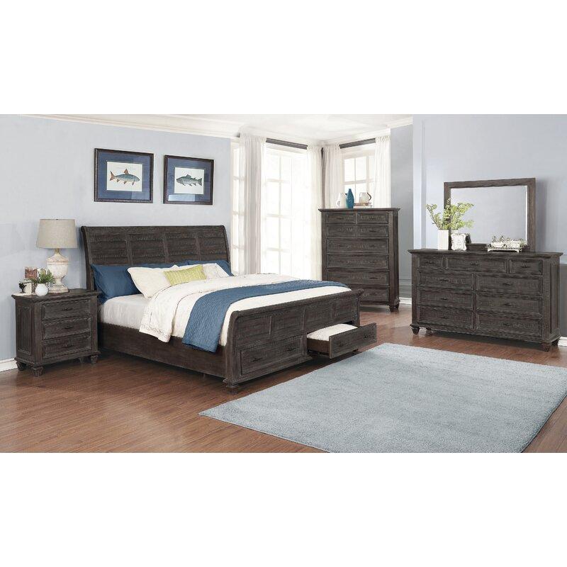 Canora Grey Partain Platform Configurable Bedroom Set Wayfair