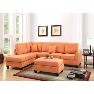 Alcott Hill Chapin Reversible Sectional