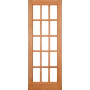 SA Unfinished Wood External Door