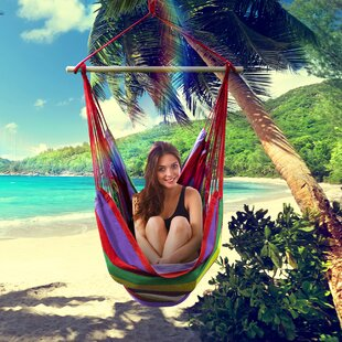 Brazilian Cotton and Polyester Chair Hammock