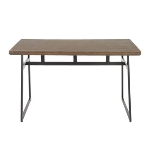 Brockton Industrial Solid Wood Dining Table