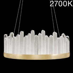 Fine Art Lamps Lior Rock 20-Light Drum Chandelier
