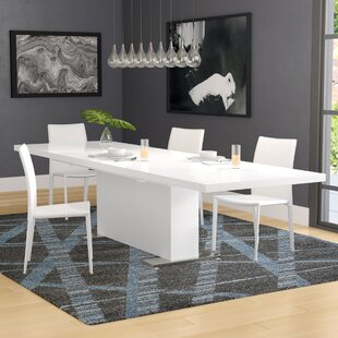 Critchlow T Extendable Dining Table Wade Logan