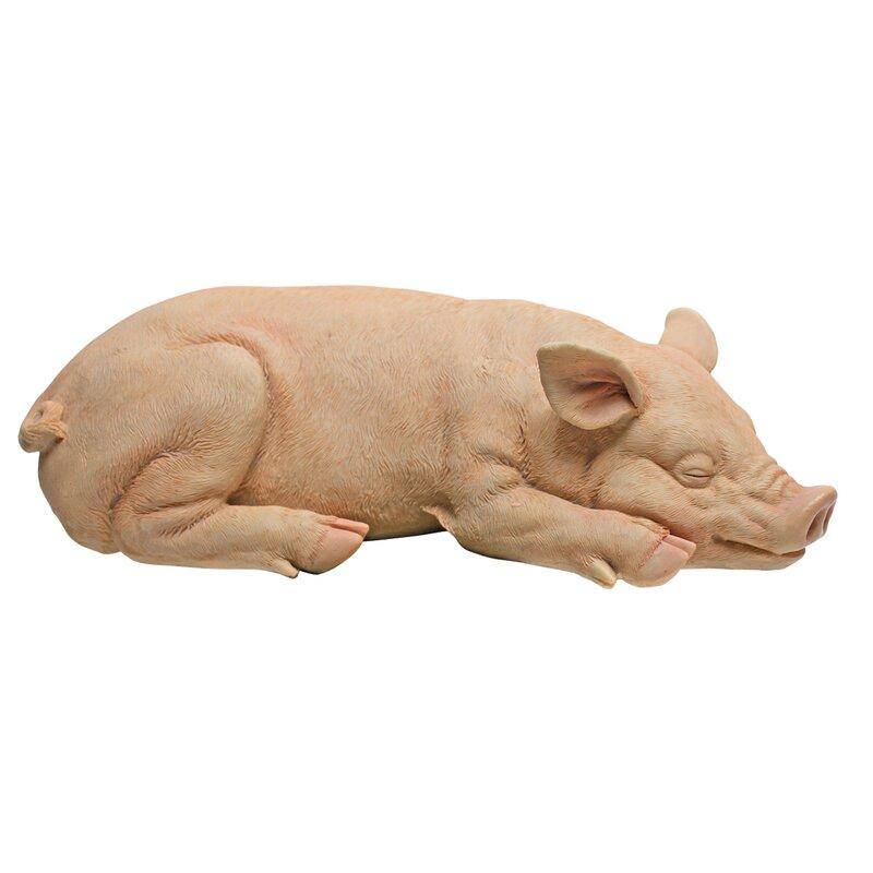 Piggy Garden Sandman Statue
