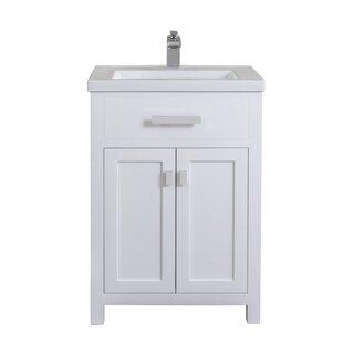 Modern White Bathroom Vanities Allmodern