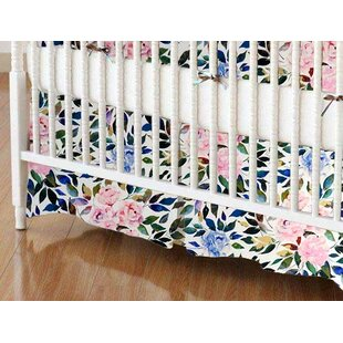 Find for Rose Garden Crib Skirt By Sheetworld
