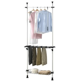 85cm Wide Clothes Rack By Symple Stuff