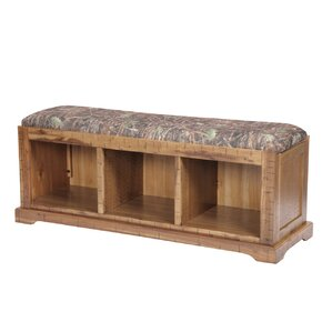 Jayden Solid Wood Hall Storage Bench by Loon Peak
