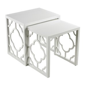 2 Piece Nesting Table Set by Sterling Industries