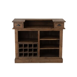 Starla Bar With Wine Storage By Williston Forge