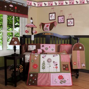 Best Choices Boutique Ladybug Flower 13 Piece Crib Bedding Set ByGeenny