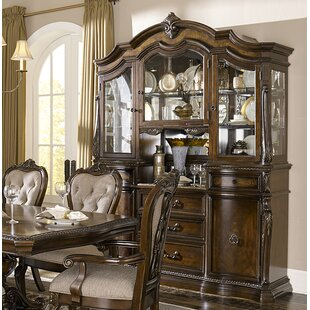 Astoria Grand West Console China Cabinet (Set of 2)