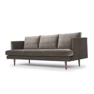 Busse Velvet Sofa by George Oliver