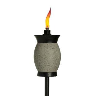 TIKI Brand 4-in-1 Resin Jar Garden Torch (Set of 2)