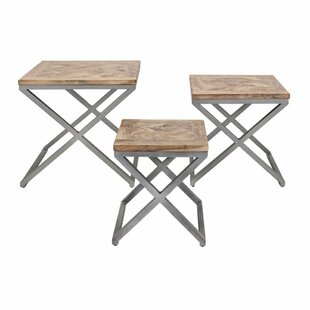 Augustine 3 Piece Nesting Tables by Foundry Select