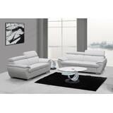 Teagan 2 Piece Living Room Set (Set of 2) by Orren Ellis