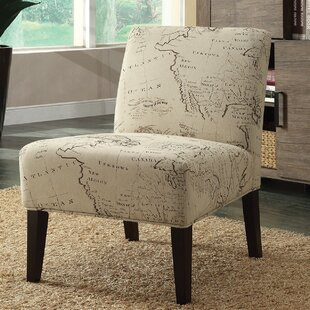 Avalon Map Slipper Chair by A&J Homes Studio