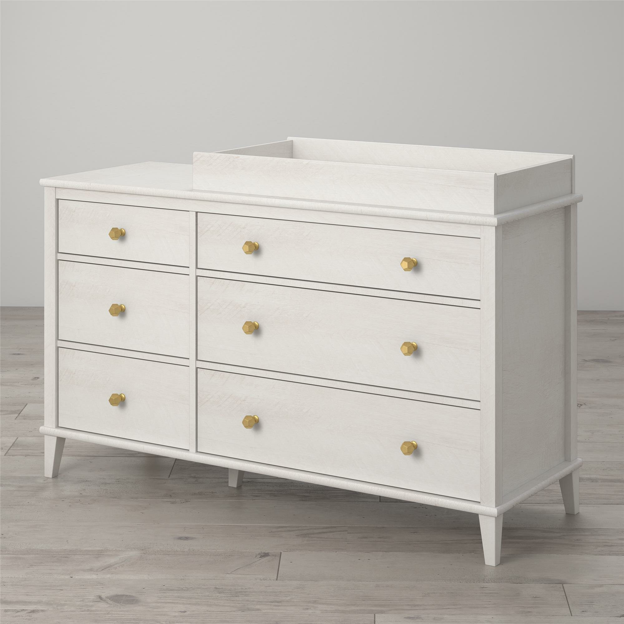 Image of: Little Seeds Monarch Hill Poppy Changing Table Dresser Reviews Wayfair