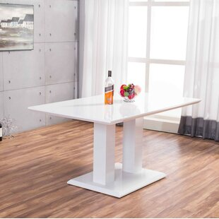 Gloss White Dining Table Wayfaircouk - Wayfair white dining table