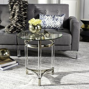Bethany Glass End Table by Willa Arlo Int..
