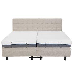 Robards European Kingsize Upholstered Adjustable Bed By Brayden Studio